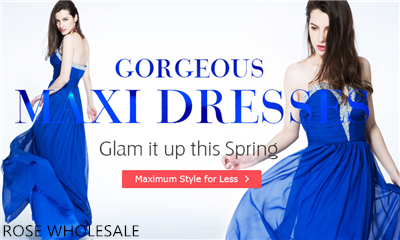 Gorgeous Maxi Dresses: Glam it Up this Spring!