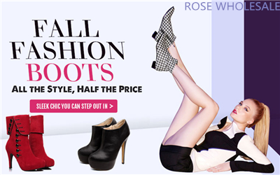 Fall Fashion Boots! Up to 53% OFF for Massive Boots at Rosewholesale! Choose One to Suit Your Style!