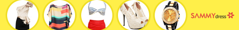 Big Promotion! Super Low-Price for the Newest and Hottest Items at sammydress.com! Various of Stylish Dresses, Trendy Blouse, Sexy Swimsuit, Chic Shoes and Exquisite Watches for Your Saving!