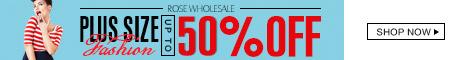 Plus Size Fashion: 50% OFF