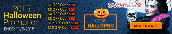Sammydress Halloween Promotion