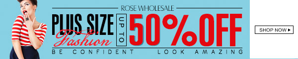 Plus Size Fashion: 50% OFF