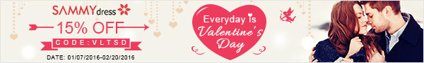 Sammydress Valentine's Day Sale