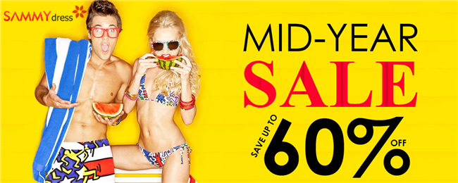 Mid-Year Sale: UP to 60% OFF for Hottest
