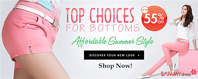 Top Choices, UP to 55% OFF For Bottoms, Discover Your New Summer Look!