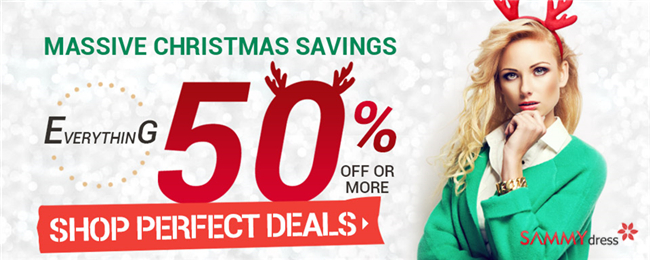 Massive Christmas Sale: UP to 50% OFF for Perfect Gifts!
