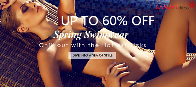 Up to 60% OFF: Sexy Swimwear @sammydress.com