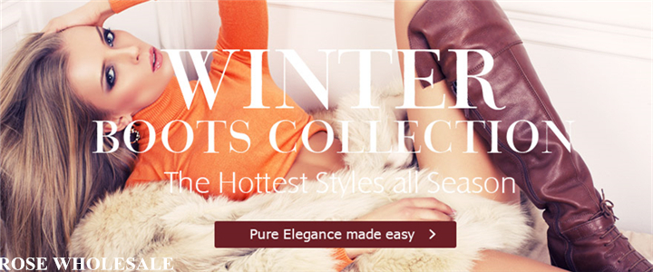 Winter Boots Collection! Up to 50% OFF for the Hottest Styles at Rosewholesale!