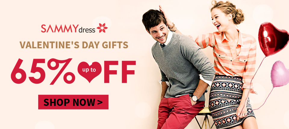 Valentine's Day Sale: Up to 65% OFF, Shop Now!