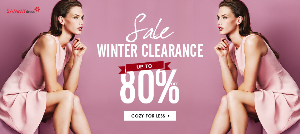 Winter Clearance: Up to 80% OFF at Sammydress.com