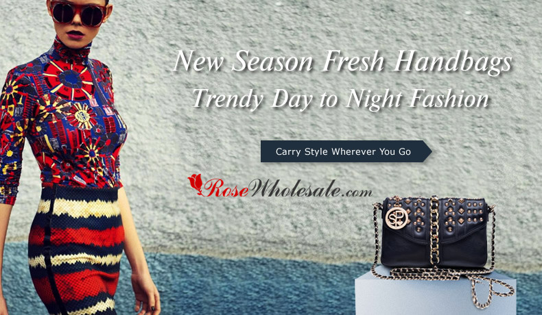 New Season Fresh Handbags: Trendy Day to Night Fashion