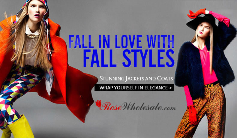 FALL IN LOVE WITH FALL STYLES: STUNNING JACKETS & COATS