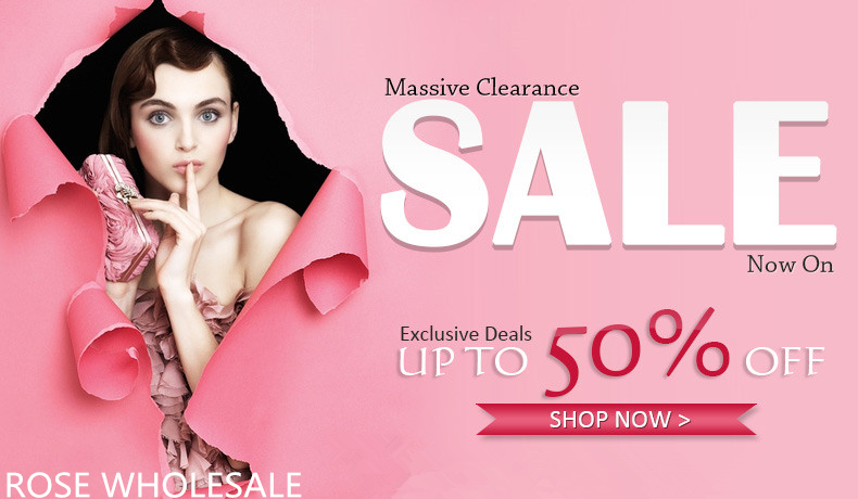 Massive Clearance! UP to 50% OFF for Thousands of Fashion Items! Start Big Saving Now!