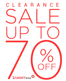 Fashion Bargains! UP to 70% OFF for Over 6000 Fashion Apparels and Accessories at sammydress.com. Amazing Trends are Waiting for You!