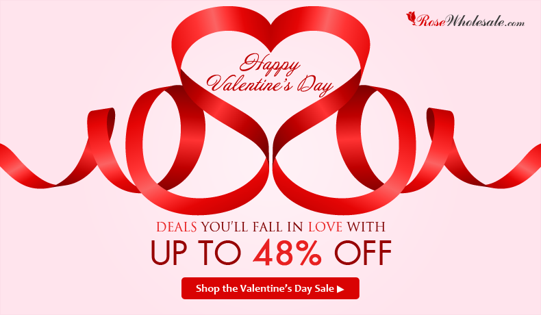 Happy Valentine's Day! Save UP to 48% OFF for Latest & Hottest Women's Outwears, Men's Outwears, Stunning Jewelries, Trendy Bags, etc! You'll Definitely Fall In Love With These Amazing Valentine's Day Deals!
