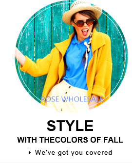 Style it Up with the Colors of Fall! Up to 50% OFF for the Fall Essentials from Head to Heels!