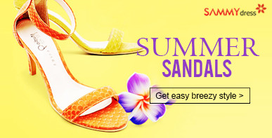Summer Sandals! Get Easy Breezy Style! UP to 41% OFF!