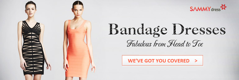 Lowest prices, most fashionable and latest bandage dresses for you on sammydress.com.
