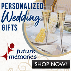 Wedding Season is here!  Shop for unique personalized gifts @ FutureMemories.com