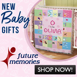 Beautiful baby gifts - made personalized for you @FutureMemories.com