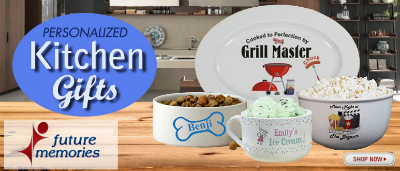Shop Kitchen Gifts at FutureMemories.com