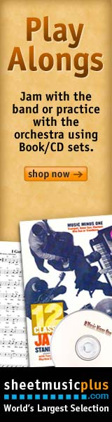 Sheet Music Plus Play Along