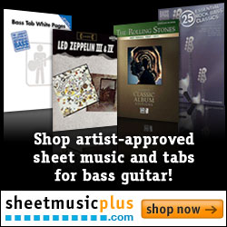Shop Bass Guitar Sheet Music