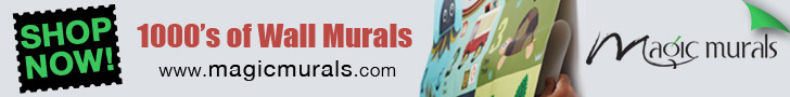 1000`s of Wall Murals to choose from!