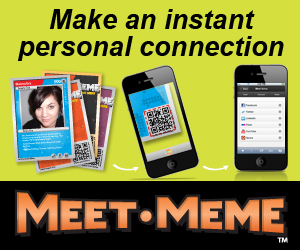 Meet-Meme Social Trading Cards - Make an instant personal connection