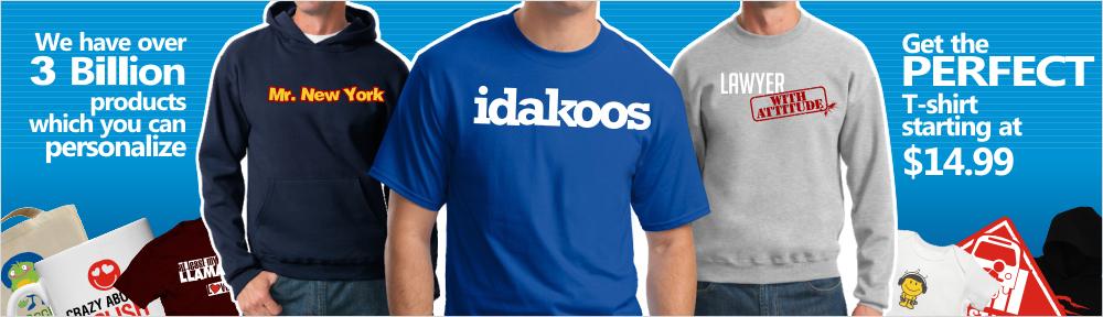 Idakoos Custom Products