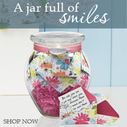 Jar of Messages in Mini Envelopes