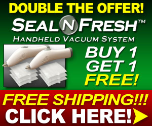Seal and Fresh Vacuum Sealer