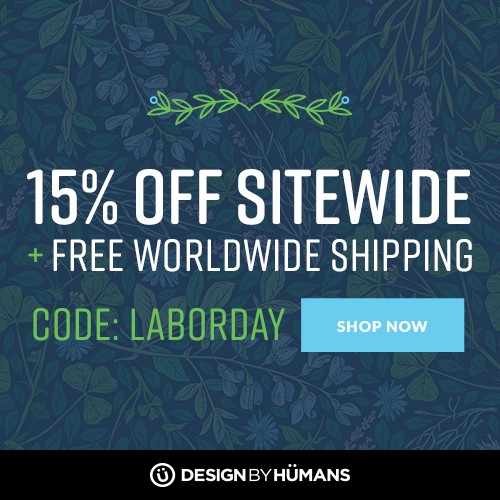 Free worldwide shipping on apparel plus save 15% sitewide with coupon code: LABORDAY.