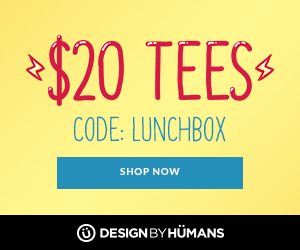 Back to school savings! All tees are $20 with coupon code: LUNCHBOX.