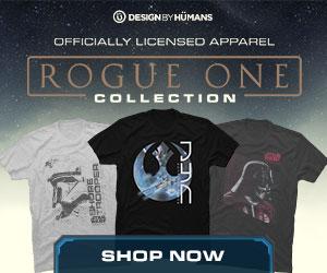 Star Wars Rogue One apparel at DesignByHumans.com.