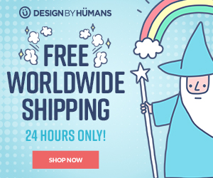 Free worldwide shipping on all apparel for 1 day only. Expires 5/12/17 at 11:59 pm PST.