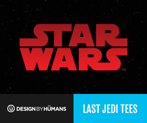 Shop officially licensed Star Wars The Last Jedi apparel at DesignByHumans.com.