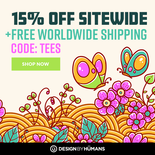 Get free shipping on apparel plus 15% off sitewide with coupon code: TEES.