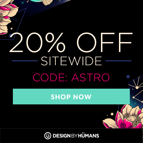 Save 20% off sitewide with coupon code: ASTRO.