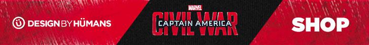 Banner - Captain America Civil War - 728x90