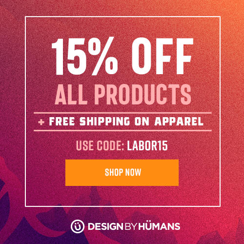15% off all products + Free Worldwide Shipping on all apparel with coupon code: LABOR15