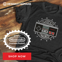 Shop Nintendo licensed apparel at DesignByHumans.com