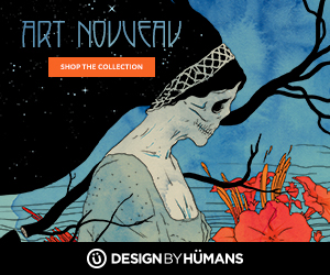 Shop the art nouveau collection at DesignByHumans.com.
