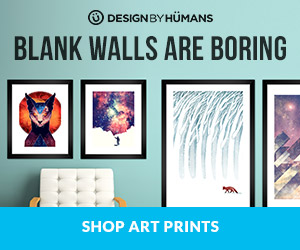 Shop framed art prints at DesignByHumans.com!