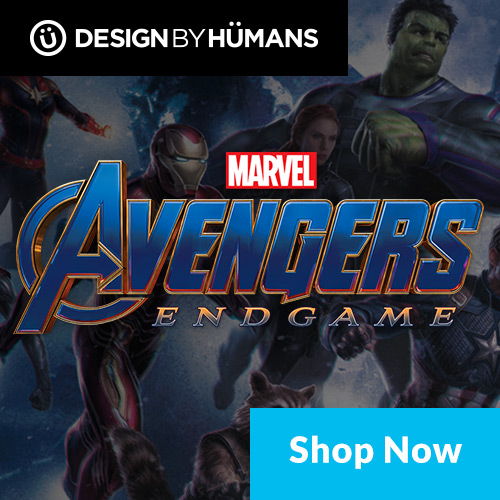 Shop Avengers Endgame apparel at DesignByHumans.com.