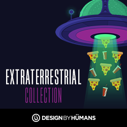 Shop the extraterrestrial collection at DesignByHumans.com.