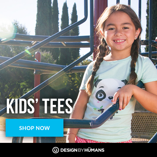 Shop kids' tees at DesignByHumans.com!