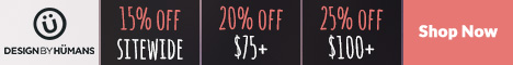 Save 15% off anything, 20% off $75+, 25% off $100+ with discount code: PLAY.
