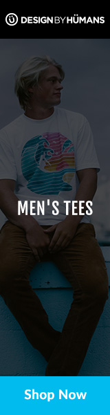 Shop men's graphic tees at DesignByHumans.com.