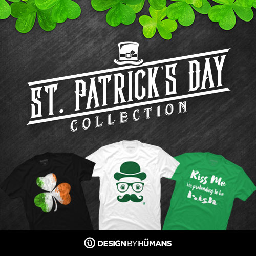 Save 15% off all St. Patrick's Day apparel with coupon code: SPD.